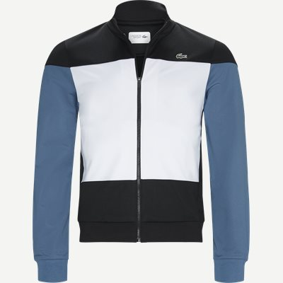 Sport Colourblock Technical Pique Zip Tennis Jacket Regular | Sport Colourblock Technical Pique Zip Tennis Jacket | Sort