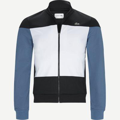Sport Colourblock Technical Pique Zip Tennis Jacket Regular | Sport Colourblock Technical Pique Zip Tennis Jacket | Sort
