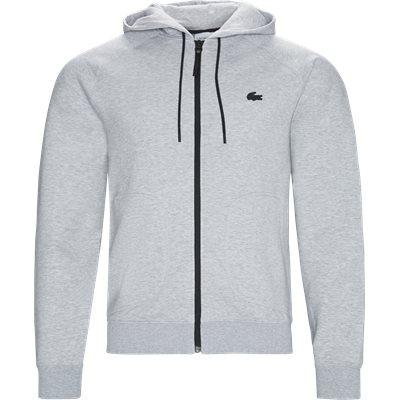 Motion Overstitched Technical Fleece Zip Sweatshirt Regular   Motion Overstitched Technical Fleece Zip Sweatshirt   Grå