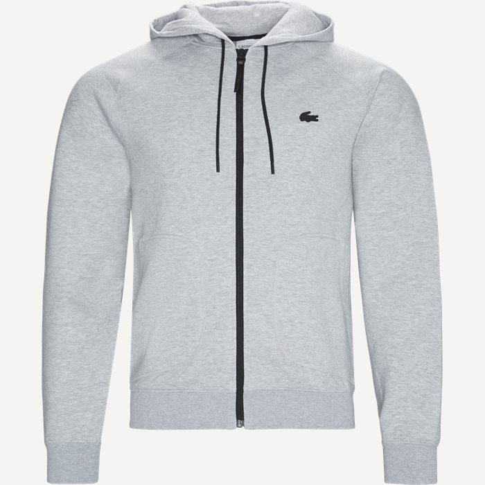 Motion Overstitched Technical Fleece Zip Sweatshirt - Sweatshirts - Regular - Grå