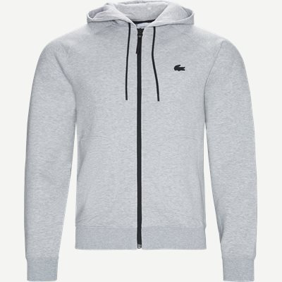 Motion Overstitched Technical Fleece Zip Sweatshirt Regular | Motion Overstitched Technical Fleece Zip Sweatshirt | Grå