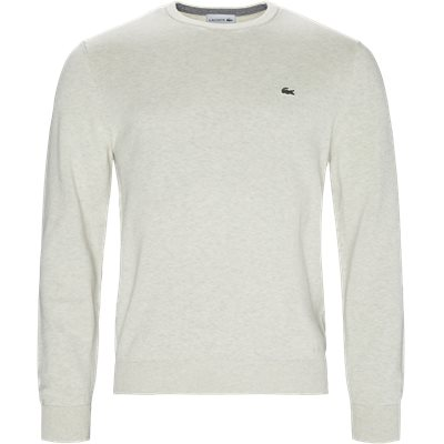 Crew Neck Knit Regular | Crew Neck Knit | Sand