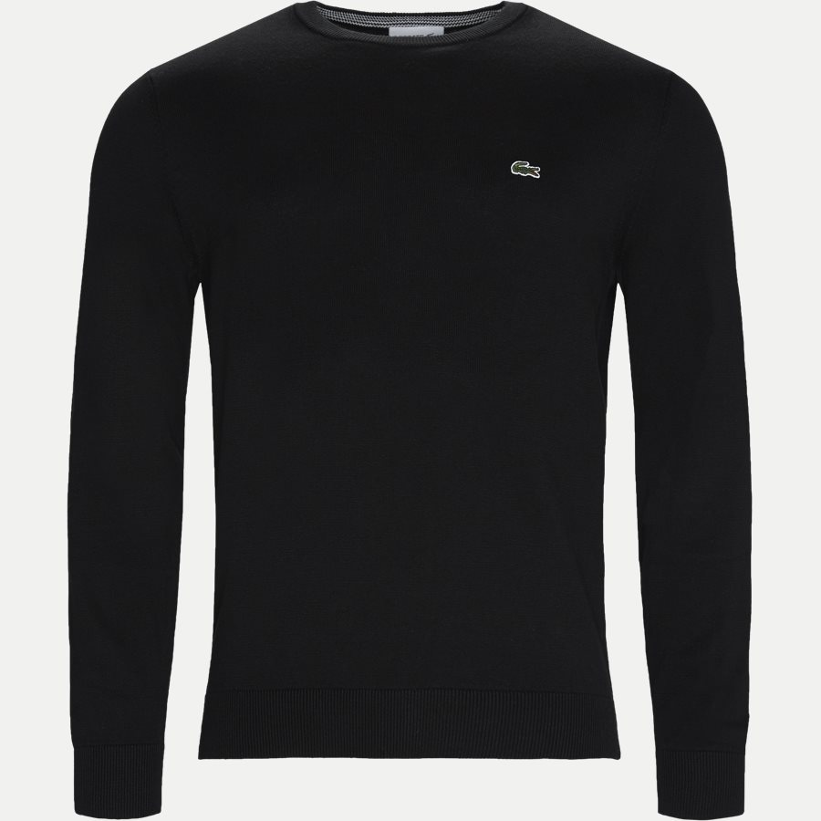 AH7004, - Crew Neck Knit - Strik - Regular - SORT - 1