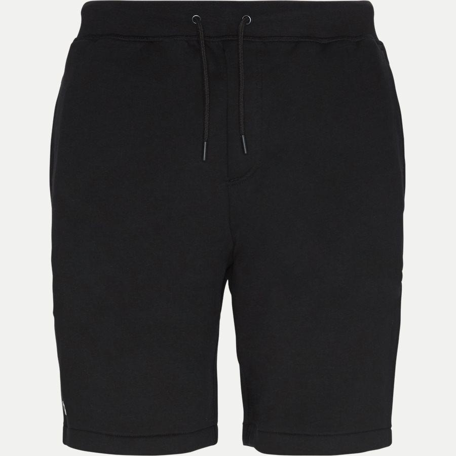 GH3570 - Embroidery Fleece Shorts - Shorts - Regular - SORT - 1