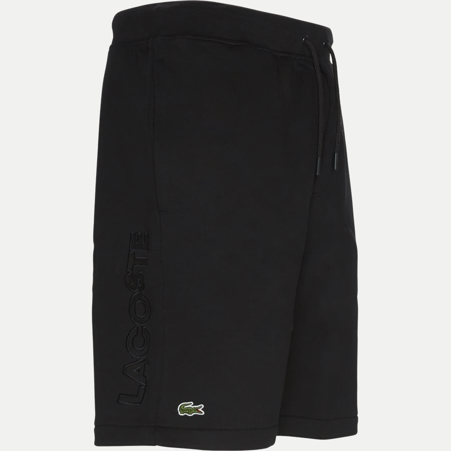 GH3570 - Embroidery Fleece Shorts - Shorts - Regular - SORT - 4