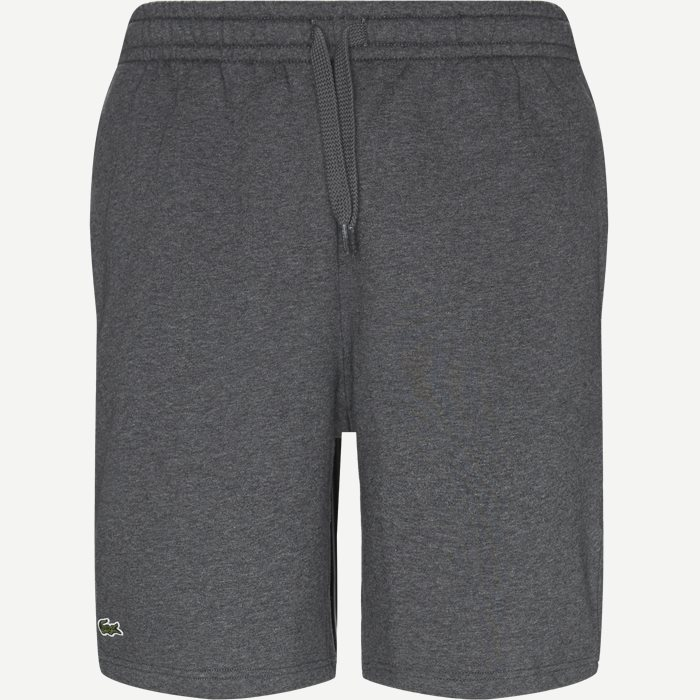 Sport Tennis Fleece Shorts - Shorts - Regular - Grå