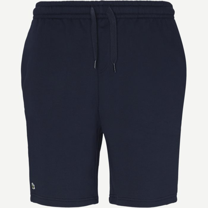 Sport Tennis Fleece Shorts - Shorts - Regular - Blå