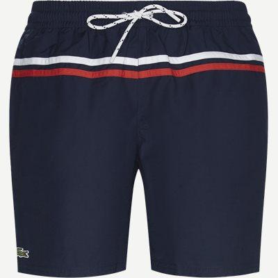 Colour Striped Swimming Trunks Regular | Colour Striped Swimming Trunks | Blå