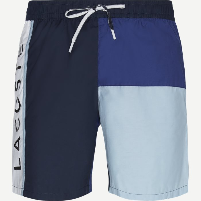 c222c5a7ecd Men's Colourblock Taffeta Swimming Trunks - Shorts - Regular - Blå. Lacoste