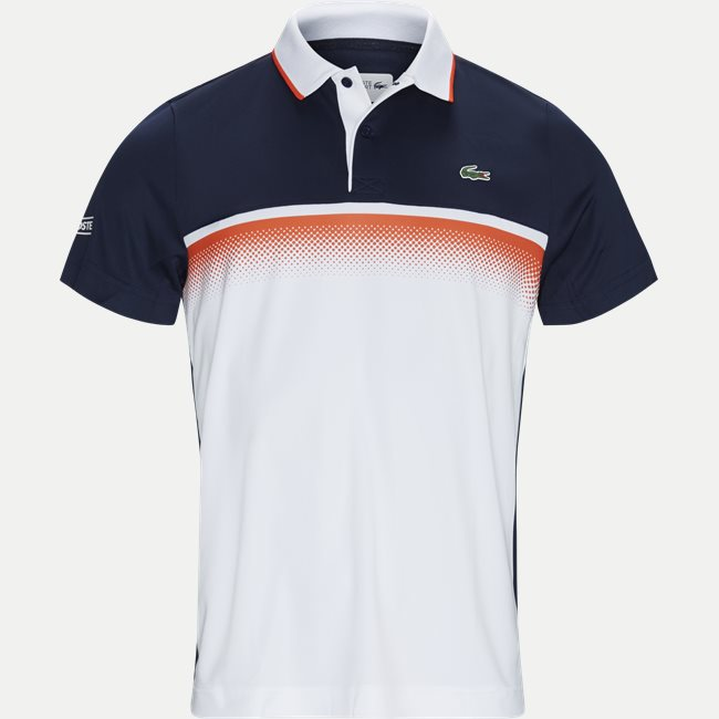 Shaded Colourblock Technical Piqué Tennis Polo Shirt