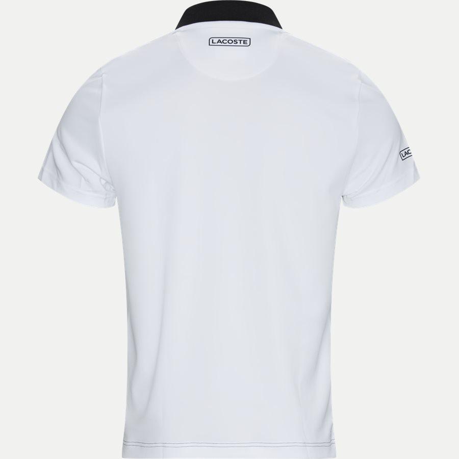DH3448 - Shaded Colourblock Technical Piqué Tennis Polo Shirt - T-shirts - Regular - SORT - 2