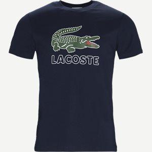 Oversize Crokodile Jersey Regular | Oversize Crokodile Jersey | Blå