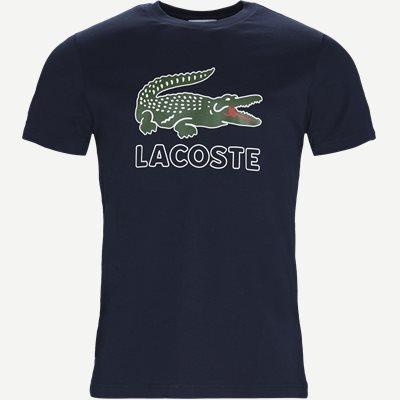 Oversize Crokodile Jersey T-shirt Regular | Oversize Crokodile Jersey T-shirt | Blå