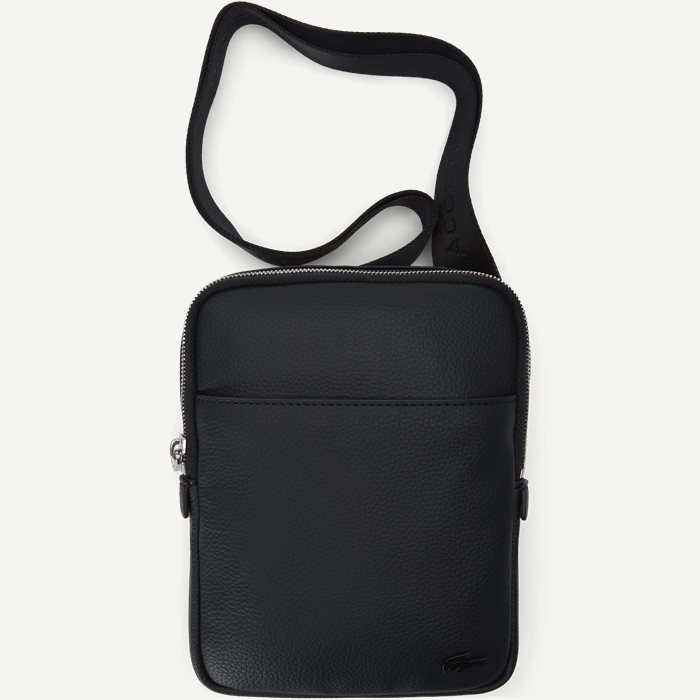 Flat Crossover Bag - Tasker - Sort