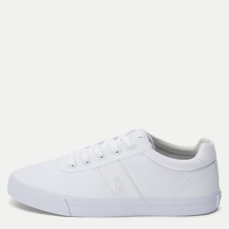 8161769190 - Hanford-NE Canvas Sneaker - Sko - HVID - 1