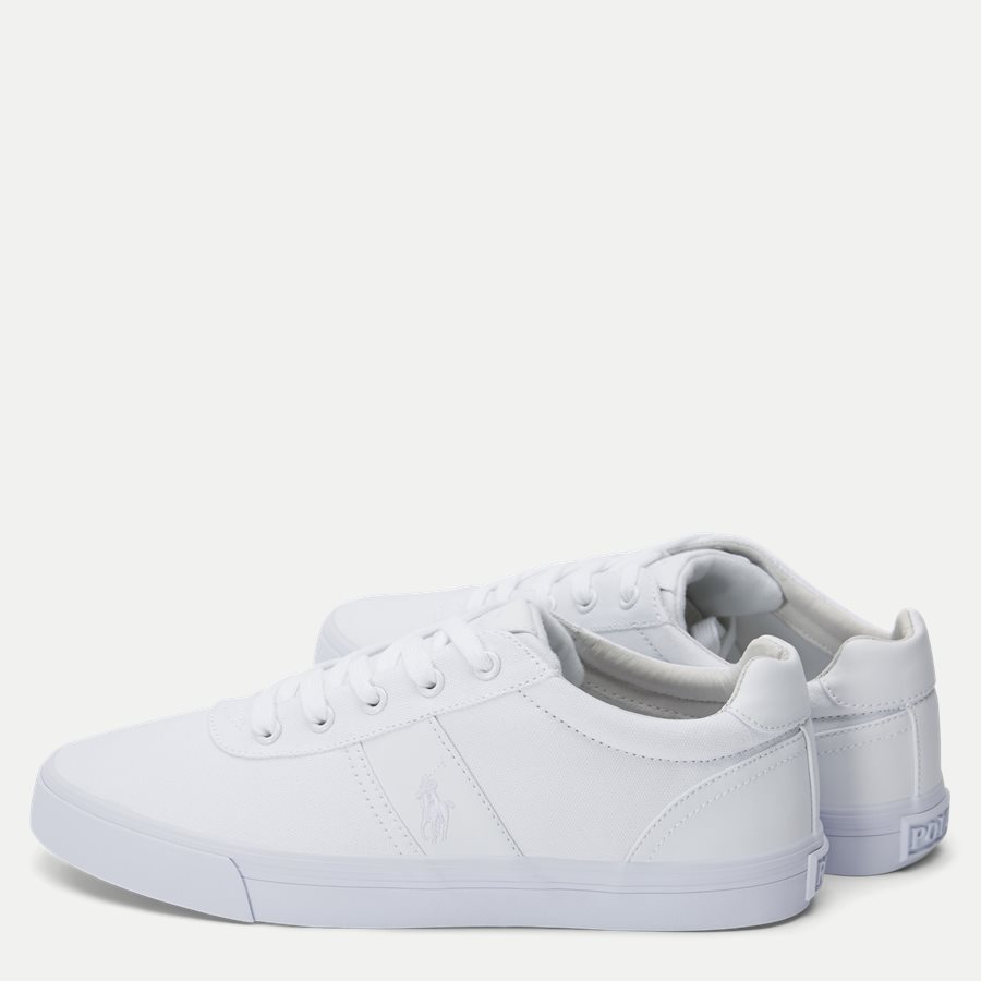 8161769190 - Hanford-NE Canvas Sneaker - Sko - HVID - 3