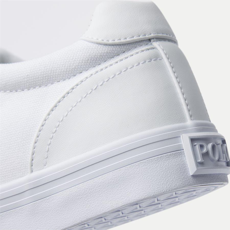 8161769190 - Hanford-NE Canvas Sneaker - Sko - HVID - 5