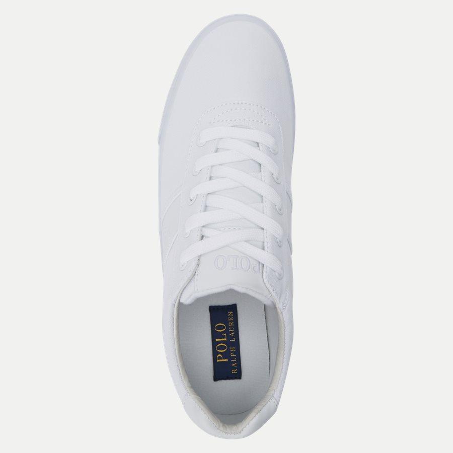 8161769190 - Hanford-NE Canvas Sneaker - Sko - HVID - 8