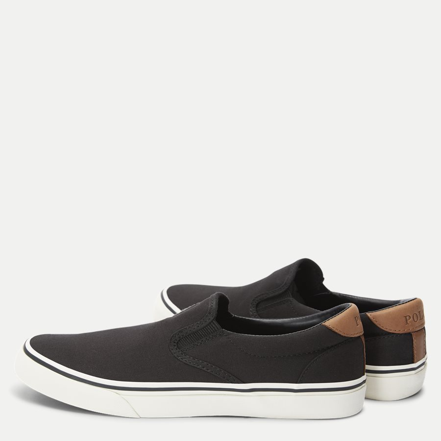 816743524 - Thompson Slip-on Sneaker - Sko - SORT - 3