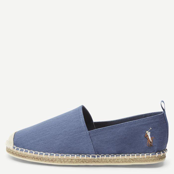 Schuhe - Jeans-Blau