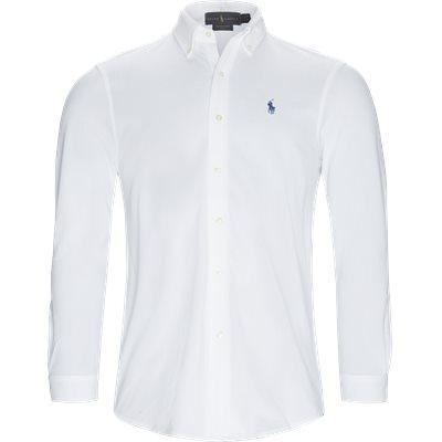 Featherweight Mesh Shirt Regular | Featherweight Mesh Shirt | Hvid