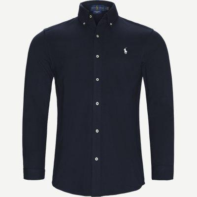 Featherweight Mesh Shirt Regular | Featherweight Mesh Shirt | Blå