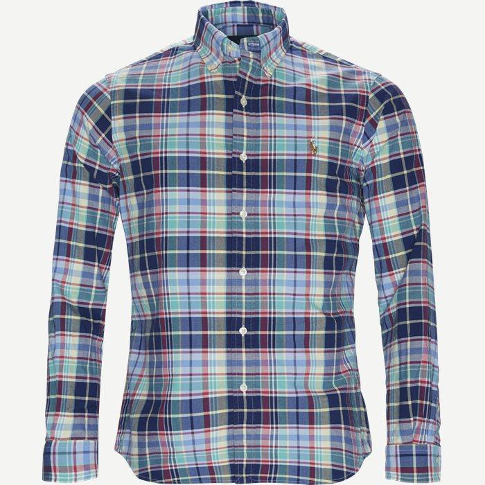Oxford Sport Shirt - Skjorter - Regular - Blå