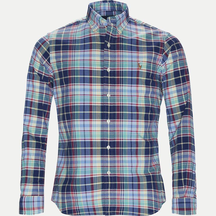 710729249 - Oxford Sport Shirt - Skjorter - Regular - BLÅ - 1