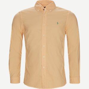 Button-Down Skjorte Slim   Button-Down Skjorte   Orange