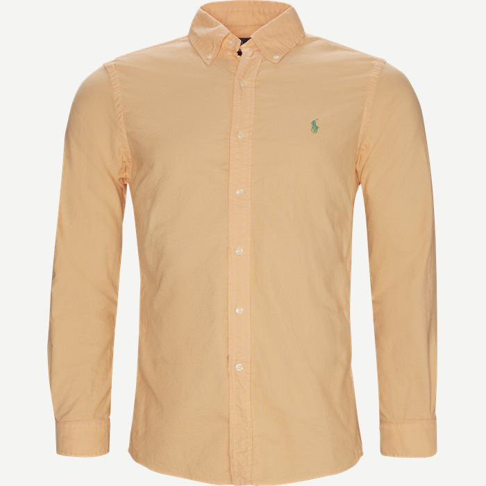 Button-Down Skjorte - Skjorter - Slim - Orange