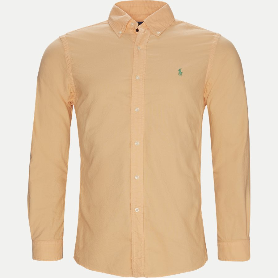 710736557 - Button-Down Skjorte - Skjorter - Slim - ORANGE - 1