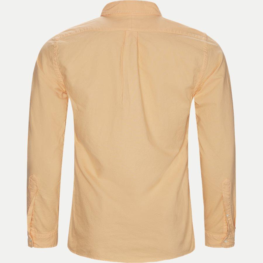 710736557 - Button-Down Skjorte - Skjorter - Slim - ORANGE - 2