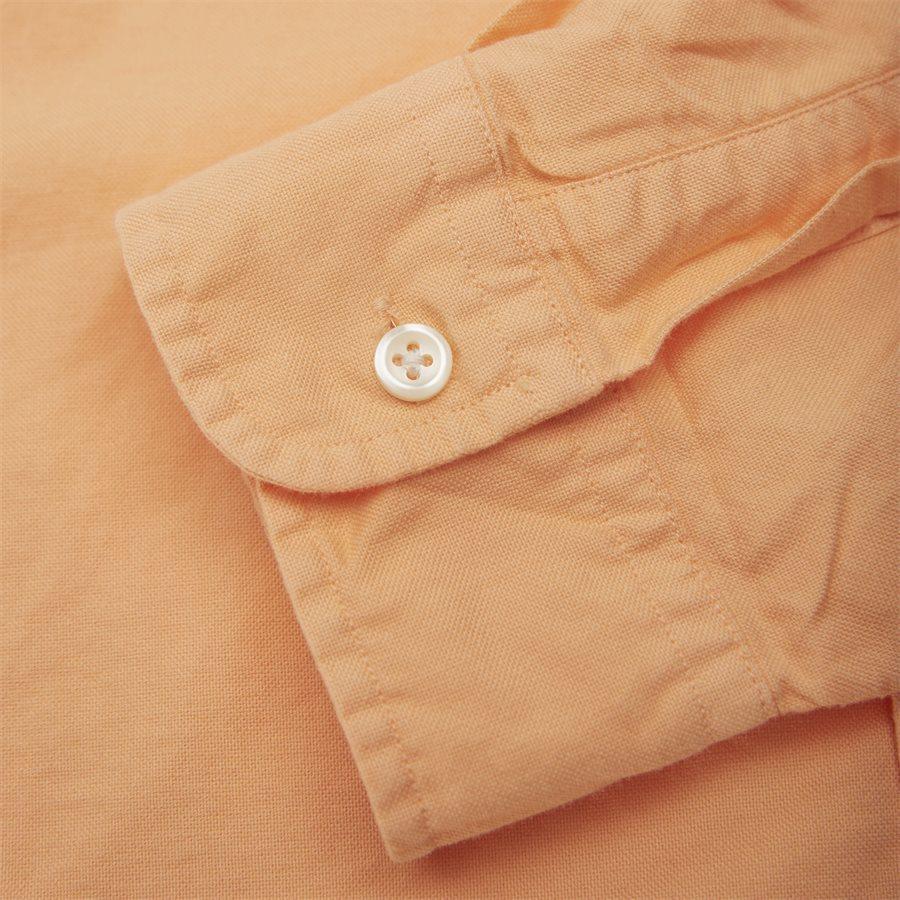 710736557 - Button-Down Skjorte - Skjorter - Slim - ORANGE - 3