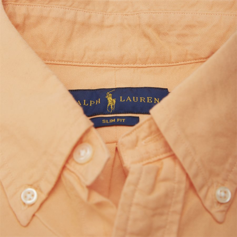 710736557 - Button-Down Skjorte - Skjorter - Slim - ORANGE - 4