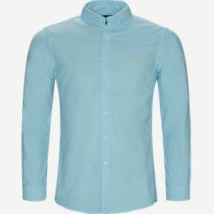 Button-Down Skjorte Slim   Button-Down Skjorte   Turkis