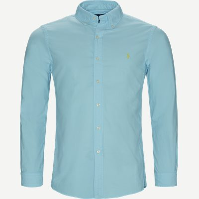 Button-Down Skjorte Slim | Button-Down Skjorte | Turkis