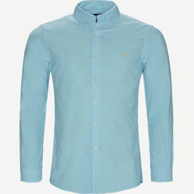 Button-Down Skjorte Slim | Button-Down Skjorte | Turkis