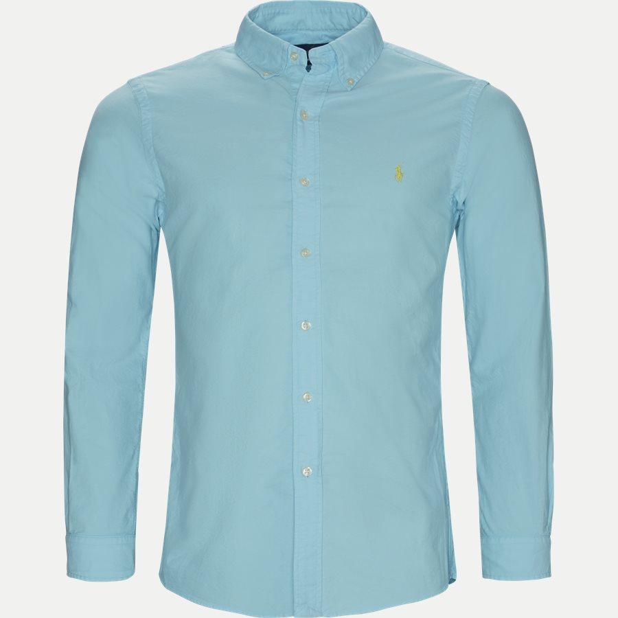 710736557 - Button-Down Skjorte - Skjorter - Slim - TURKIS - 1