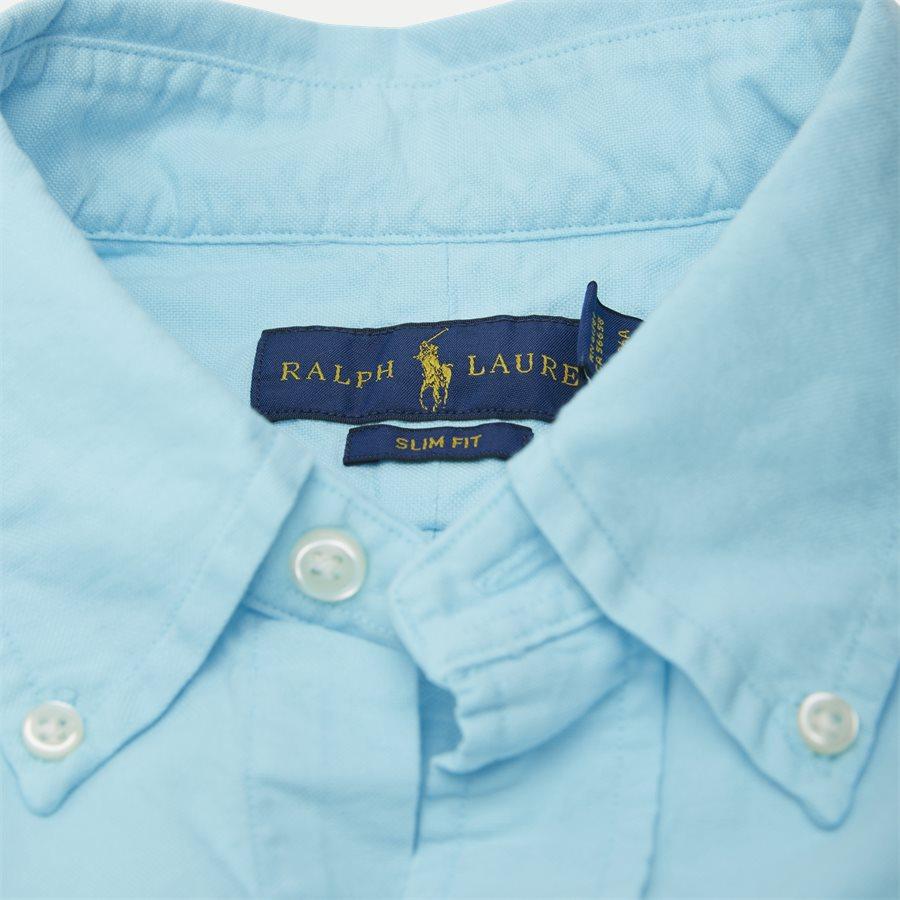 710736557 - Button-Down Skjorte - Skjorter - Slim - TURKIS - 4