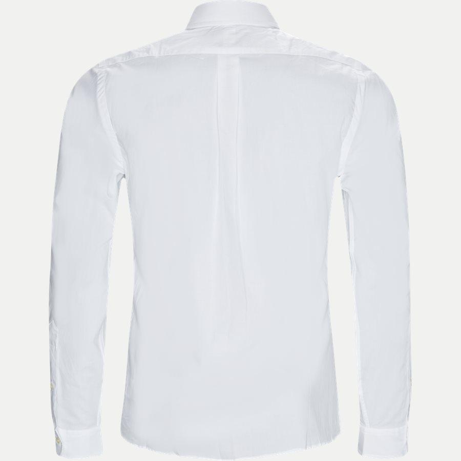 710705269 - Poplin Shirt - Skjorter - Slim - HVID - 2