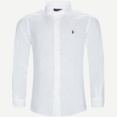 Estate Hør Skjorte Regular | Estate Hør Skjorte | Hvid