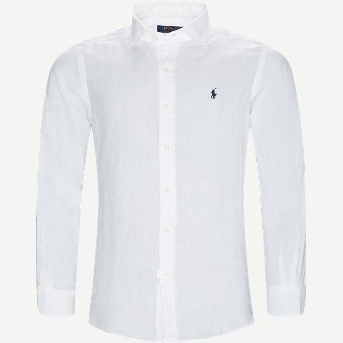 Estate Hør Skjorte - Skjorter - Regular - Hvid