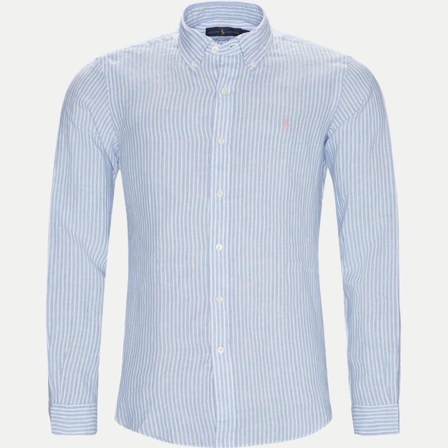 710740807 - Button-down Skjorte - Skjorter - Regular - BLÅ - 1
