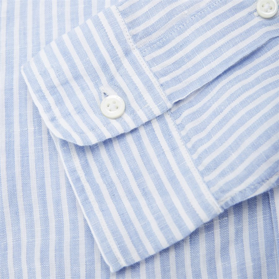 710740807 - Button-down Skjorte - Skjorter - Regular - BLÅ - 4