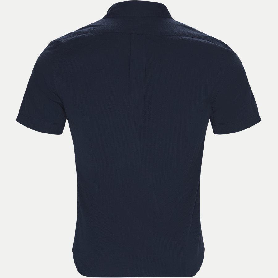 710744866 - Short Sleeve Seersucker Shirt - Skjorter - Slim - NAVY - 2
