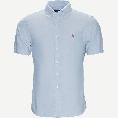 Kortærmet Oxford Skjorte Slim | Kortærmet Oxford Skjorte | Blå