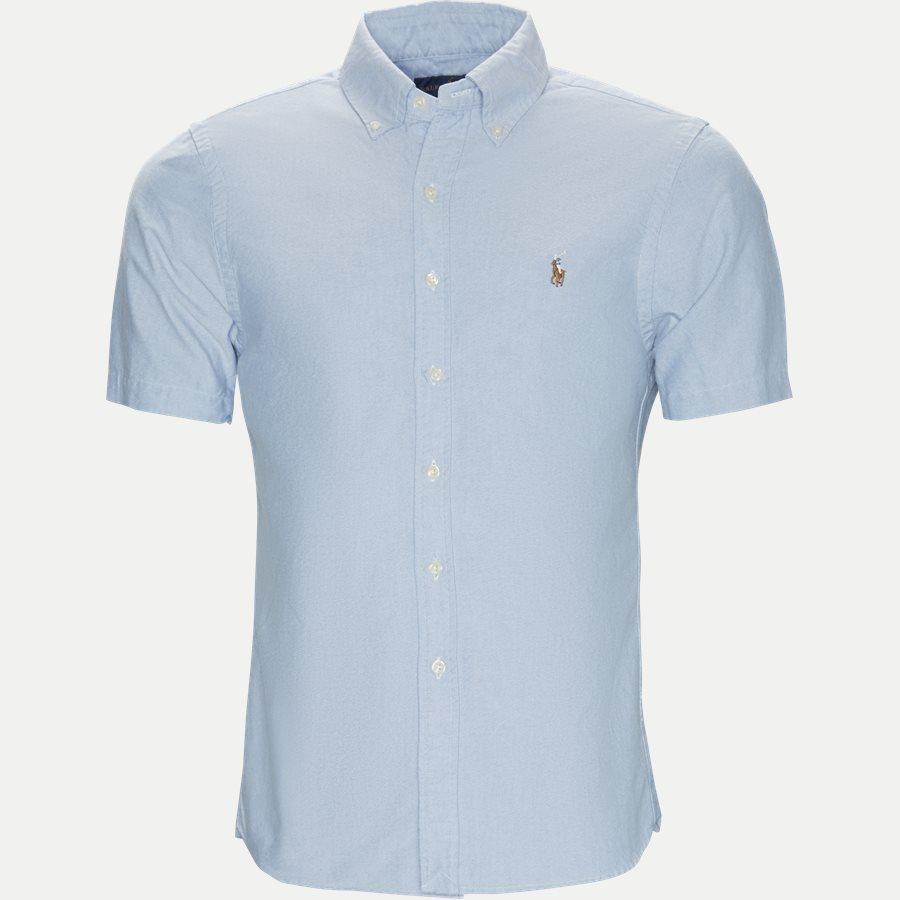 710744938 - Kortærmet Oxford Skjorte - Skjorter - Slim - LYSBLÅ - 1