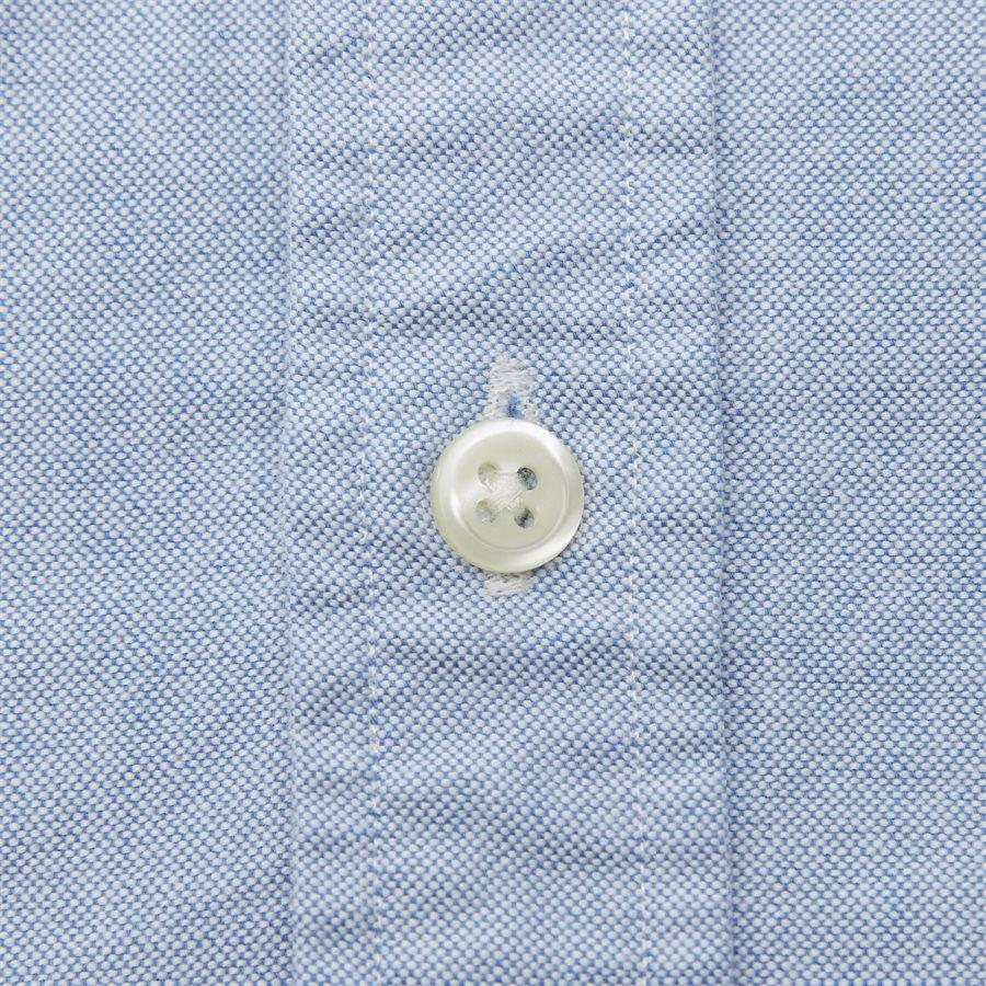710744938 - Kortærmet Oxford Skjorte - Skjorter - Slim - LYSBLÅ - 3