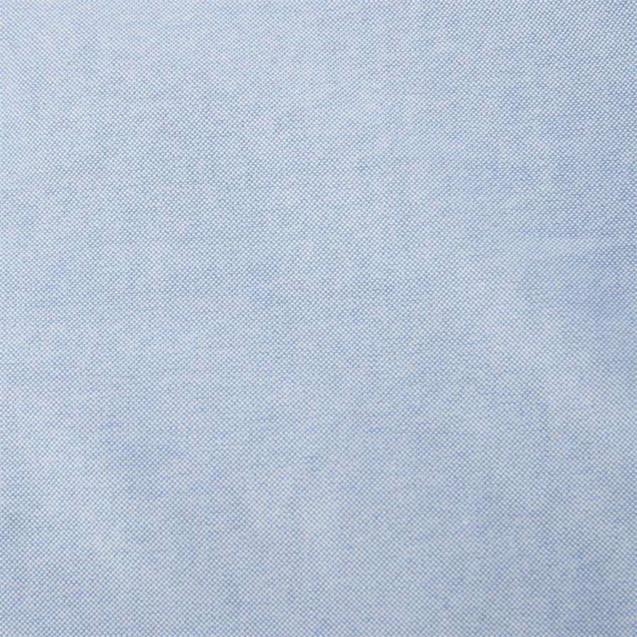 710744938 - Kortærmet Oxford Skjorte - Skjorter - Slim - LYSBLÅ - 4
