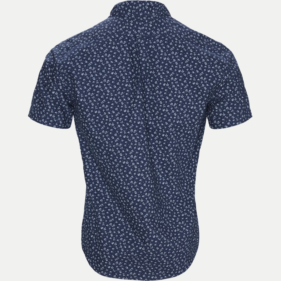 710740851 - Newport Flower Short Sleeved Shirt - Skjorter - Regular - NAVY - 2